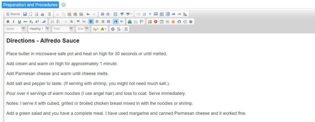 Recipe Costing Software Features Recipe Costing Software